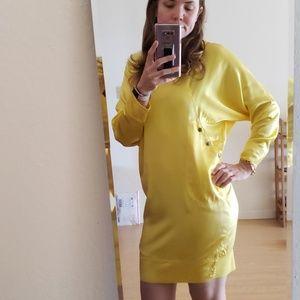 Derek Lam silk doleman sleeve mini dress